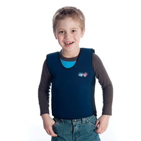 Fun and Function WR1813 Large Weighted Compression Vest Blue