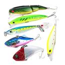 GOGO Fishing Baits with Treble Hooks, Floating Lures, 6 in 1