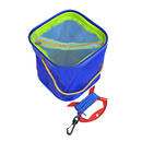 GOGO EVA Foldable Fishing Meshed Water Pail With 19.6 Feet Rope