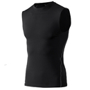 TopTie Mens Compression Sleeveless Base Layer, Athletic Workout T-Shirt