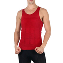 TopTie Men's Shapewear Slimming Undershirt Abdomen Control Vest