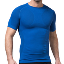 TopTie Men's Compression Top, Short Sleeve Slim Fit T-shirt