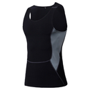 TopTie Mens Tight Breathable Sport Vest Compression Fitness Athletic Tank Top