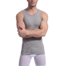 TopTie Men's Body Shaper Tank Top, Stretchy Undershirt For Exercising