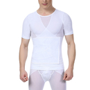 TopTie Men's Slimming Body Shaper Vest, With Adjustable Trimmer Belt