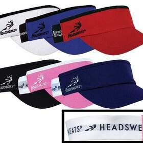 Headsweats Head Sweats Super Visor (Wht)