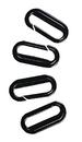 J.A. Cissel 273 Plastic Snap Hooks (100)