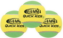 Gamma CGQB300 Quick Kids 78 Balls (12x), Yellow/Green
