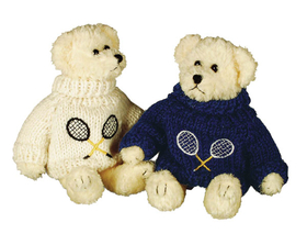 Unipak 1902C Tennis Teddy Bear, Image for Reference, Price/Each