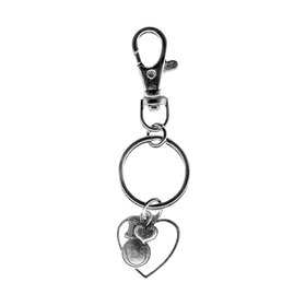 Fth Wholesale TENN 15-8 I Love Tennis Keychain