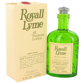 ROYALL LYME by Royall Fragrances - All Purpose Lotion / Cologne 8 oz for Men