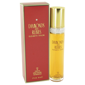 Elizabeth Taylor 403735 DIAMONDS & RUBIES by Elizabeth Taylor - Eau De Toilette Spray 1.7 oz for Women