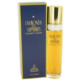 DIAMONDS & SAPHIRES by Elizabeth Taylor - Eau De Toilette Spray 3.4 oz for Women