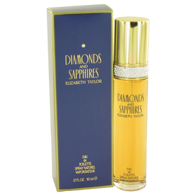 DIAMONDS & SAPHIRES by Elizabeth Taylor - Eau De Toilette Spray 1.7 oz for Women