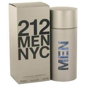 212 by Carolina Herrera - Eau De Toilette Spray (New Packaging) 3.4 oz for Men