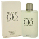 Giorgio Armani 416545 Eau De Toilette Spray 6.7 oz, For Men
