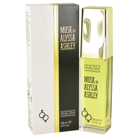 Alyssa Ashley Musk by Houbigant - Eau De Toilette Spray 3.4 oz for Women
