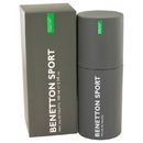 Benetton 417404 Eau De Toilette Spray 3.3 oz, For Men