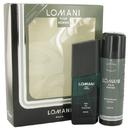 Lomani 418269 Gift Set -- 3.4 oz Eau De Toilette Spray + 6.7 oz Deodorant Spray, For Men