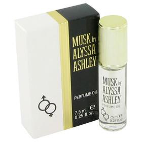 Alyssa Ashley Musk by Houbigant - Oil .25 oz for Women