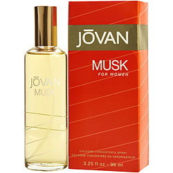 Jovan Musk By Jovan - Cologne Spray 3.25 Oz For Women