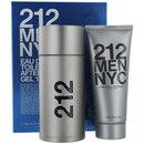 212 By Carolina Herrera - Edt Spray 3.4 Oz & Aftershave Gel 3.4 Oz For Men