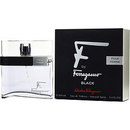 F By Ferragamo Pour Homme Black By Salvatore Ferragamo - Edt Spray 3.4 Oz For Men