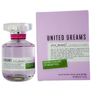 Benetton United Dreams Love Yourself By Benetton - Edt Spray 2.7 Oz For Women