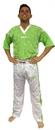 Top Ten Fight suit - Uniform - NEON EDITION - 1681-15, Neon Green/White