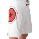 Top Ten MMA Shorts Morituri Te Salutant - 1873-1, White
