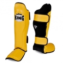 King Leather Profi Shin Guards - KPSGL-YB