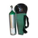 Oxygen Case For D Tank Green