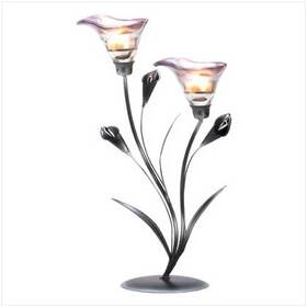 Calla Lily Wedding Centerpiece Candleholder Stand Decor, Price/EA
