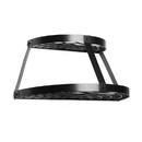 Fox Run 74934 2 Shelf Wall Mount Pot Rack