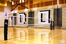 Gared 6000 RallyLine Scholastic Aluminum Multi-Sport Volleyball System