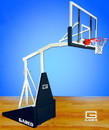 Gared Gared Hoopmaster LT, Portable Basketball System with 5' Extension