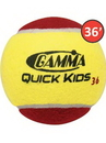 Gamma Quick Kids 36 Tennis Balls (36' Court)