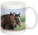 Fiddler's Elbow FEC310 Caroline's Horses 15 oz Mug