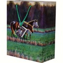 River's Edge Products REP403 Horses Medium Gift Bag