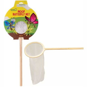 Toysmith TS4041 Wood Butterfly Net