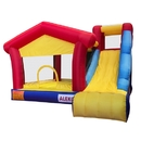 ALEKO BHPGROUND Inflatable Jump and Slide Bounce Playhouse 13 X 12 X 9 Feet (4 X 3.7 X 2.7 m)