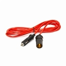 ALEKO CLEC12 Extension Cord With Cigarette Lighter Plug, 12 Feet (3.66 m) 12V