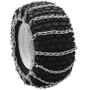 ALEKO SCB16X6-AP Size 16 x 6 Snow Blower Chains Mud Chains Grip for Garden Tractors