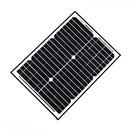 ALEKO SP20W24V-AP Solar Panel 20 Watt 24 Volt Monocrystalline