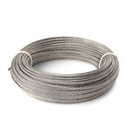 ALEKO WR1/8G304F100 1/8 Inch 7X7 304 Stainless Aircraft Steel Cable Wire Rope 100 Feet