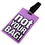 "Gadgets Luggage Tag with Identification Card - ""Not Your Bag"", Assorted Random Colors, Travelling Accessories, Price/6 Pcs"