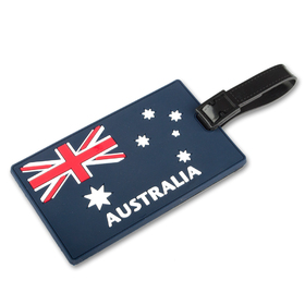 TOPTIE Luggage Tags, Australia Flag, Personalized Identification Gift Ideas, Travelling Accessories, Price/6 Pcs