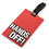 "Gadgets Travelling Luggage Tag with ID Card - ""Hands Off"", Price/6 Pcs"