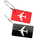 TopTie Metal Luggage Tag Set of 2 ID Name Card Travel Bag Tag Travel Accessories