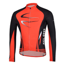 GOGO TEAM Cycling Fleece Thermal Long Jersey, Men's